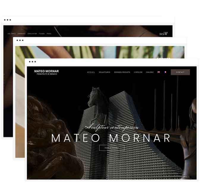 Webmaster Nice Monaco