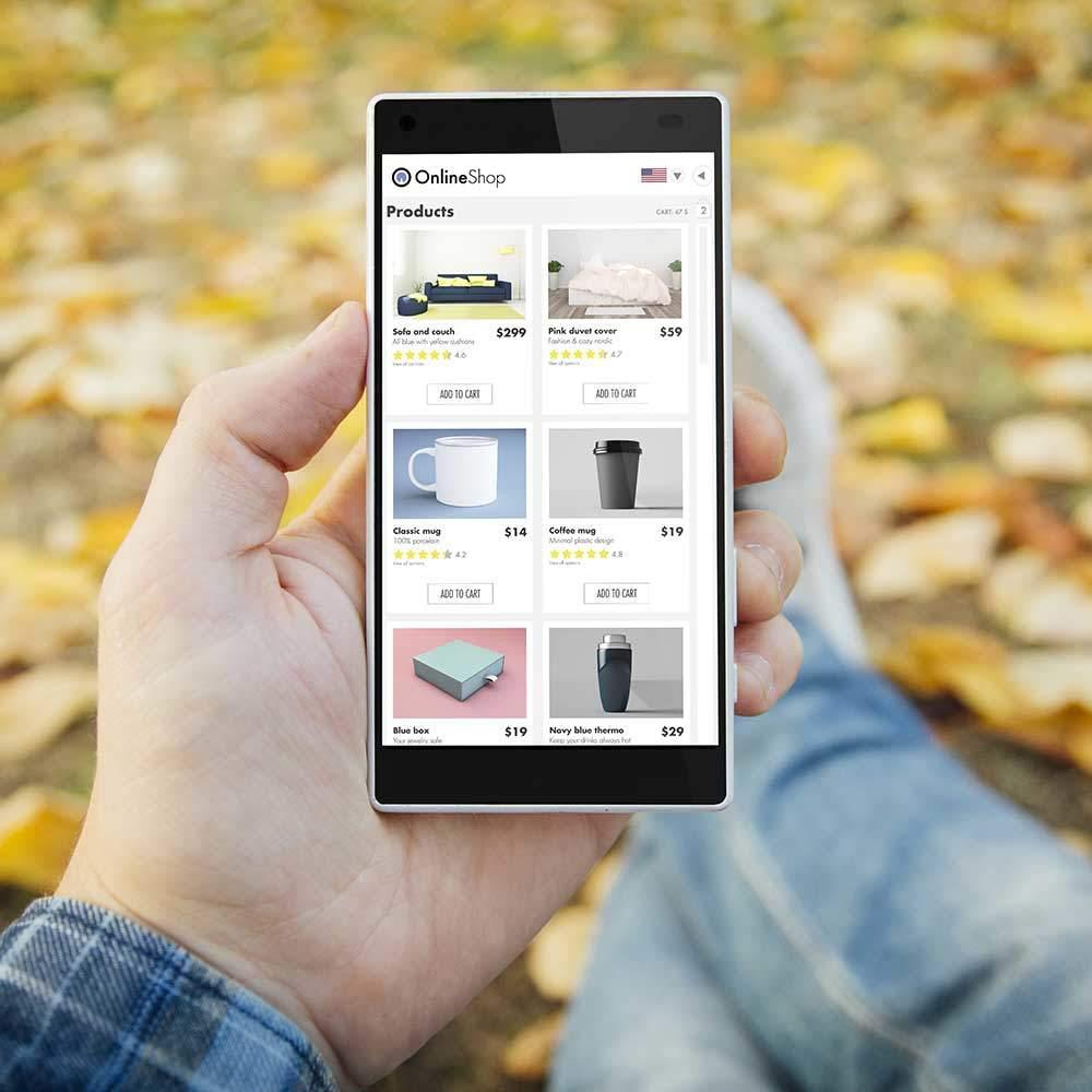 Création Site e-commerce à Nice pour la vente en ligne