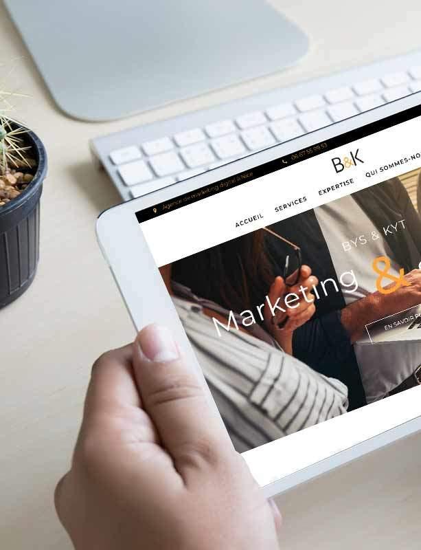 Agence communication digitale nice monaco spécialisée création site web