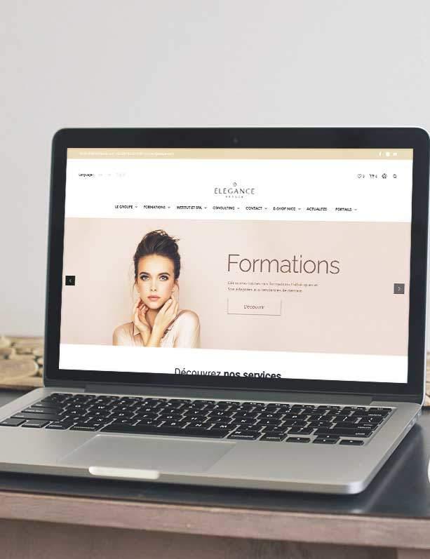 agence création site école e-learning nice monaco